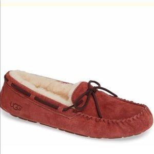 Authentic UGG Dakota water resistant slippers